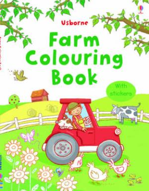 FARM COLOURING BOOK (+ STICKERS) Paperback C FORMAT