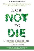 HOW NOT TO DIE  Paperback