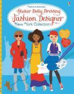 STICKER DOLLY DRESSING FASHION DESIGNER NEW YORK COLLECTION  Paperback
