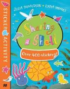 SHARING A SHELL STICKER BOOK  Paperback