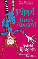 PIPPI GOES ABROAD Paperback