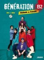GENERATION 4 B2 METHODE + CAHIER (+ CD MP3 + DVD)