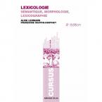 LEXICOLOGIE-SEMANTIQUE MORPHOLOGIE ET LEXICOGRAPHIE 4TH ED