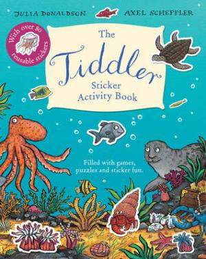 TIDDLER STICKER ACTIVITY BOOK  Paperback