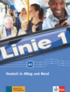 LINIE 1 A1 KURSBUCH & ARBEITSBUCH (+ DVD-ROM) & glossar