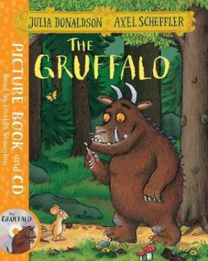 THE GRUFFALO BOOK AND CD PACK Paperback