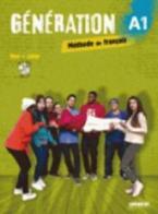 GENERATION 1 A1 METHODE + CAHIER (+ CD MP3 + DVD)