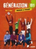 GENERATION 3 B1 METHODE + CAHIER (+ CD MP3 + DVD)