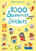 USBORNE ACTIVITIES : 1000 SUMMER STICKERS Paperback