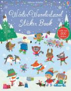 USBORNE : WINTER WONDERLAND STICKER BOOK  Paperback
