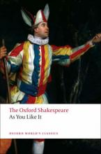 OXFORD WORLD CLASSICS : AS YOU LIKE IT THE OXFORD SHAKESPEARE Paperback B FORMAT