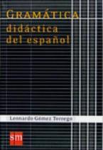 GRAMATICA DIDACTICA DEL ESPAGNOL N/E