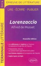 LORENZACCIO ALFRED DE MUSSET  POCHE
