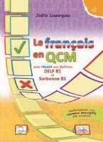 LE FRANCAIS EN QCM DELF & SORBONNE B1 PROF.