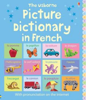 THE USBORNE PICTURE DICTIONARY IN FRENCH (WITH PRONUNCIACION ON THE INTERNET) HC
