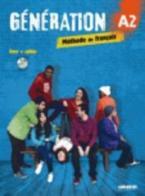 GENERATION 2 A2 METHODE + CAHIER (+ CD MP3 + DVD)