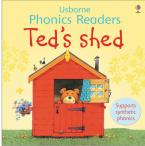 USBORNE PHONIC READERS : TED'S SHED Paperback