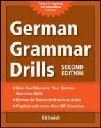 GERMAN GRAMMAR DRILLS 2ND ED PB