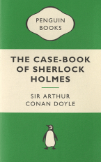 PENGUIN MERCHANDISE BOOKS : A CASE-BOOK OF SHERLOCK HOLMES Paperback A FORMAT