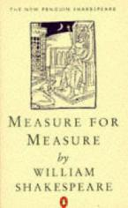 PENGUIN SHAKESPEARE : MEASURE FOR MEASURE 24TH ED Paperback A FORMAT