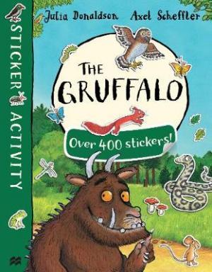 THE GRUFFALO STICKER BOOK  Paperback