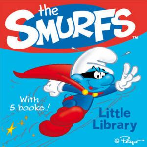 THE SMURFS : LITTLE LIBRARY (WITH 5 BOOKS) Paperback BOX SET