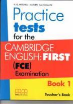 CAMBRIDGE ENGLISH FIRST PRACTICE TESTS 1 TEACHER'S BOOK