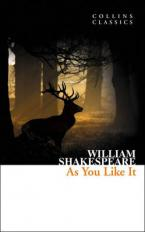 COLLINS CLASSICS : AS YOU LIKE IT Paperback