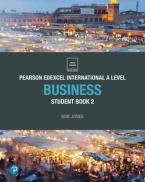 PEARSON EDEXCEL INTERNATIONAL A LEVEL BUSINESS STUDENT BOOK 2