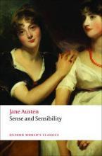 OXFORD WORLD CLASSICS : SENSE AND SENSIBILITY Paperback B FORMAT