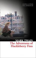 COLLINS CLASSICS : THE ADVENTURES OF HUCKLEBERRY FINN Paperback A FORMAT