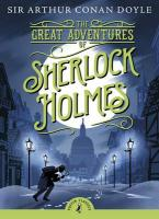 PUFFIN CLASSICS : THE GREAT ADVENTURES OF SHERLOCK HOLMES N/E Paperback A FORMAT