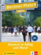BERLINER PLATZ 4 KURSBUCH + ARBEITSBUCH (+ AUDIO CDs (2)) NEU