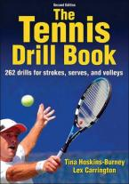THE TENNIS DRILL BOOK Paperback