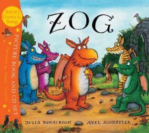 ZOG PICTURE BOOK & CD SET Paperback BIG FORMAT