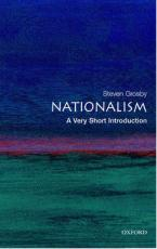 VERY SHORT INTRODUCTIONS : NATIONALISM Paperback A FORMAT