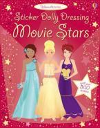 STICKER DOLLY DRESSING : MOVIE STARS Paperback