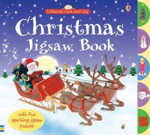 USBORNE : CHRISTMAS JIGSAW BOOK HC