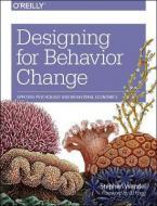 DESIGNING FOR BEHAVIOR CHANGE  Paperback