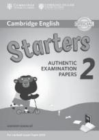 CAMBRIDGE YOUNG LEARNERS ENGLISH TESTS STARTERS 2 ANSWER BOOK (FOR REVISED EXAM FROM 2018)