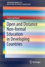 OPEN DISTANCE NON- FORMAL EDUCATION IN DEVELOPING COUNTRIES Paperback