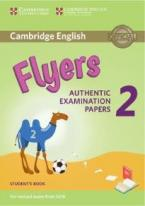 CAMBRIDGE YOUNG LEARNERS ENGLISH TESTS FLYERS 2 STUDENT'S BOOK (FOR REVISED EXAM FROM 2018)