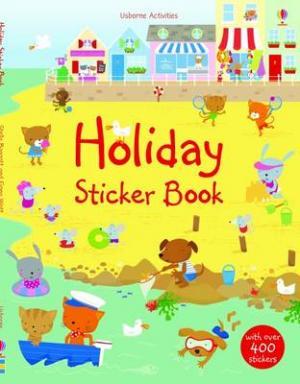 USBORNE ACTIVITIES : HOLIDAY STICKER BOOK (+ STICKERS) Paperback