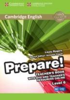 PREPARE! 6 TEACHER'S BOOK  (+ DVD & TEACHER'S BOOK  ONLINE RESOURCES)