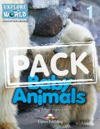 EOW : BABY ANIMALS 1 TEACHER'S BOOK  PACK