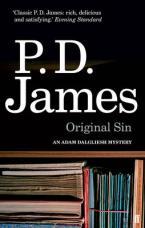 AN ADAM DALGLIESH MYSTERY : ORIGINAL SIN Paperback B FORMAT