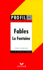 PROFIL D'UNE OEUVRE FABLES LA FONTAINE Paperback