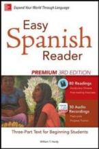 EASY SPANISH READER PREMIUM 3RD ED PB
