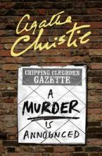 A MURDER IS ANNOUNCED Paperback