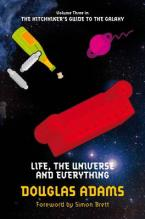 THE HITCHHIKER'S GUIDE TO THE GALAXY 3: LIFE, THE UNIVERSE AND EVERYTHING Paperback A FORMAT